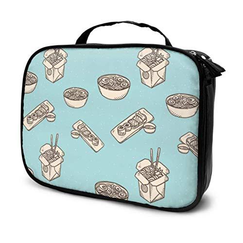 Kreative Mode Cartoo Küche Wok Reise Kosmetiktasche Bilden Mädchen Kosmetiktasche Große Kosmetiktaschen Multifunktions Gedruckt Tasche Für Frauen