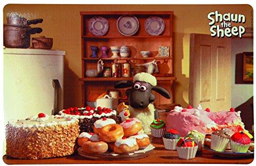 Trixie 24572 Salvamanteles la Oveja Shaun-Pastelería, 44 x 28 cm