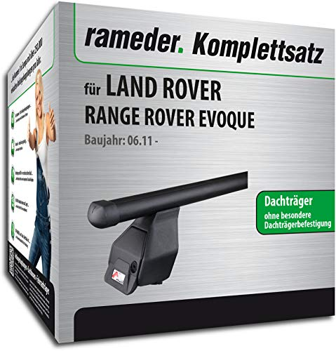 Rameder Komplettsatz, Dachträger Tema für Land Rover Range Rover EVOQUE (118796-09576-8)