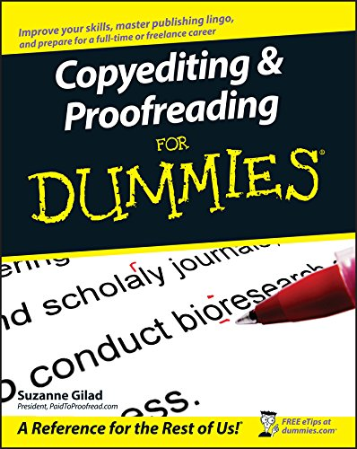 Copyediting and Proofreading For Dummies (For Dummies Series) (English Edition)