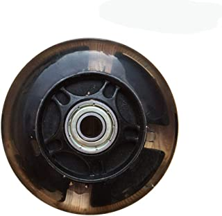 2pcs 80-120mm LED-blixt Ljus övre Wheel för skridskor Wheel LED Micro sparkcykel med två ABEC-7 Kullager