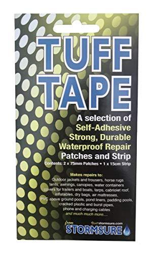 TUFF Tape Selbstklebende, wasserdichte, gemischte Patches und Streifen