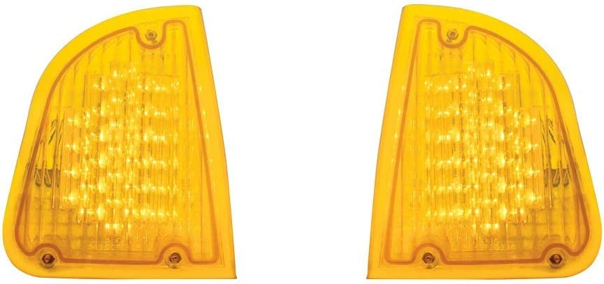 United Pacific Kenworth T600 LED Lights Amber Outstanding Online limited product Turn Am Signal