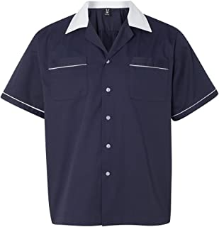 Hilton Bowling Retro Gm Legend, Navy/White, X-Large