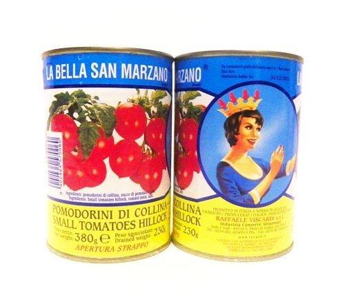 La Bella San Marzano - Italian Cherry Tomatoes (Pomodorini di Collina), (6)- 14.5 oz. Cans