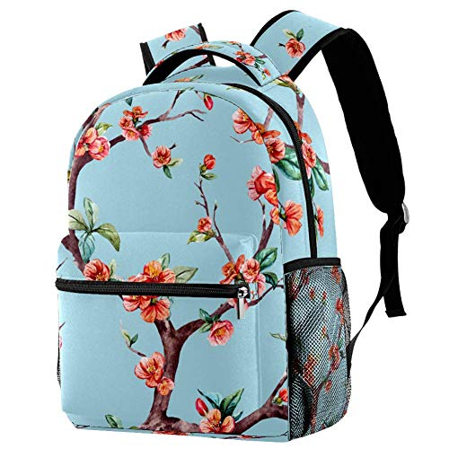Blue Dragon Scales - Mochila escolar para viajes, motivo 2 (Multicolor) - bbackpacks004