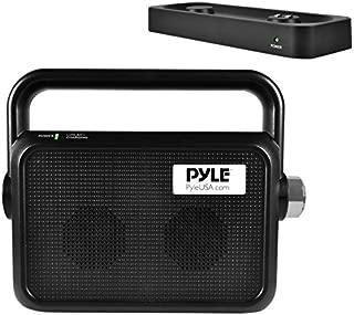 Pyle Wireless TV Speaker | Portable TV Soundbox | TV Audio Hearing Assistance