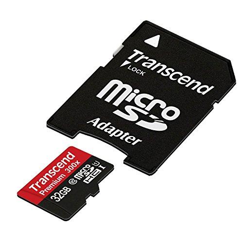 Transcend microSDHCカード 32GB Class10 UHS-I対応 (無期限保証) Newニンテンドー3DS 動作確認済み TS32GUSDU1E (FFP)【Amazon.co.jp限定】