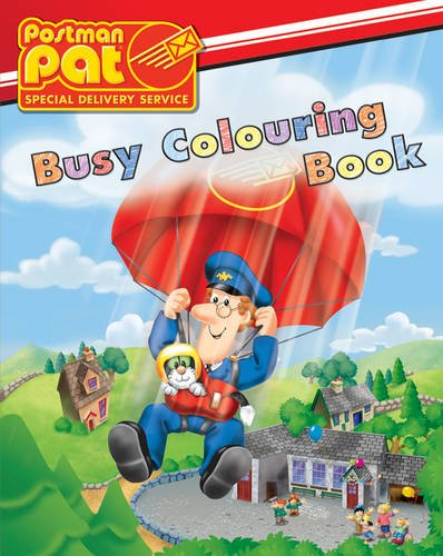 Postman Pat Busy Colouring Book