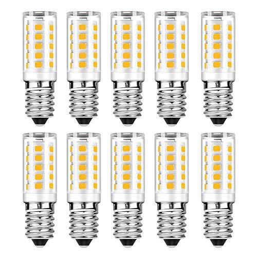 E14 led kaltweiß 5w 500 lumens 6000k ersetzt 50W Glühlampen E14 LED Lampe Nicht Dimmbar AC 220V-240V 10er Pack