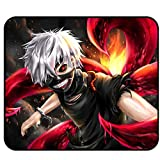 Tokyo Ghoul Mouse Pad - Anime Mouse mat Anti Slip Mouse pad for Optical Laser Mouse pad 11.81 x 9.84 x 0.12Inch