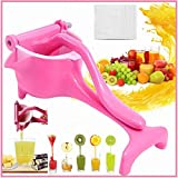 Newly Stainless Steel Manual Fruit Juicer Top Rated Heavy Duty Alloy Lemon Press Squeezer Premium Quality Lemon Orange Juicer,Simple Fruit Press Squeezer Citrus Extractor Tool