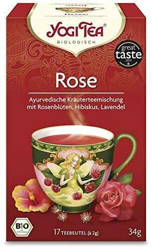 Yogi Tea - Rose Bio - 17x2,0 g - 6er Pack