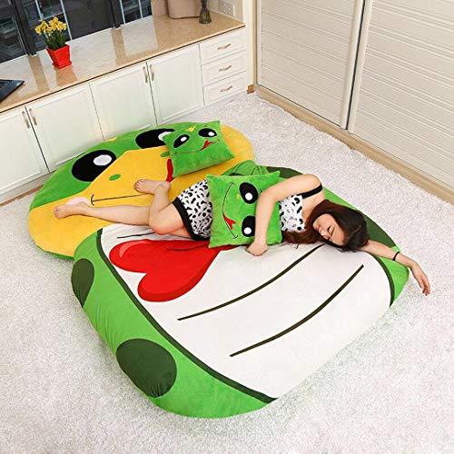 Totoro Matratze, 130 x 190 cm, weich, dick, Comic-Stil, Tatami Dormitory, Matratze, Cartoon-Design, dick, Sofa, Super weich, Schlafbett