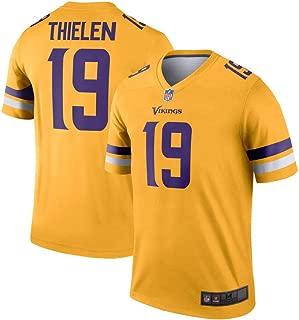 Mitchell & Ness Minnesota Vikings #19 Adam Thielen Inverted Legend Men's Gold Jersey