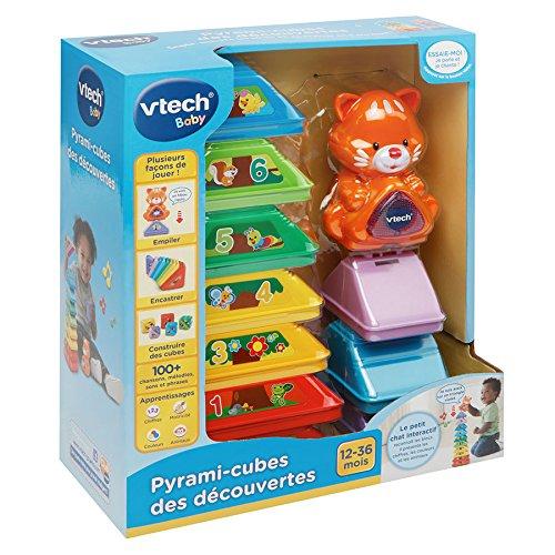 VTech - 185005 - Pyrami-Cubes des Découvertes