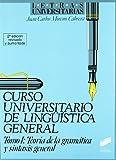 Teoría de la gramática y sintasis general (Letras universitarias)
