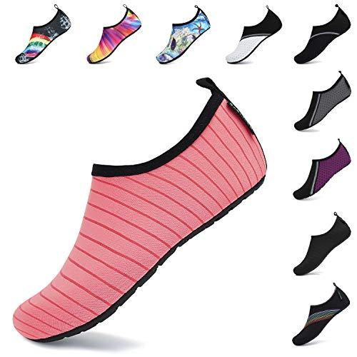 SAGUARO Verano Zapatos de Agua Secado Rápido para Hombre Mujer Secado Rápido Escarpines...