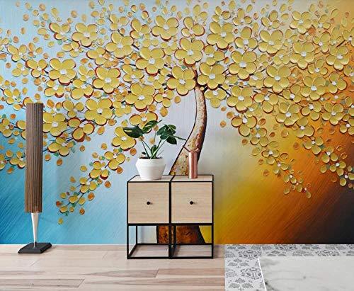 Carta Da Parati 3D Murali Arte Della Pittura A Olio Di Huang Jincai Caishu Fotomurali 3D Murales Da Parete Decorazione Muro Fotomurale