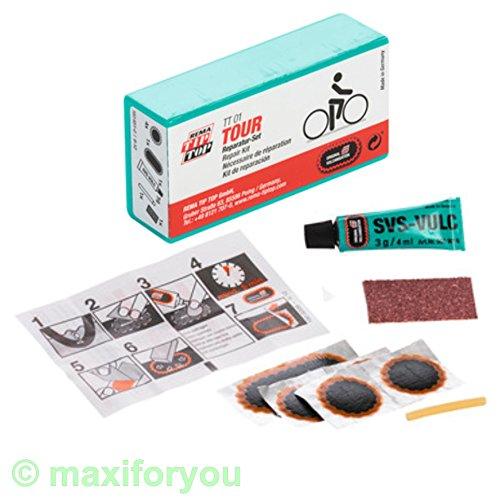 W01230103 Rema TIP-TOP TT01/05 – 7 o. 9-teilig – Fahrrad Flickzeug Reparaturset (1 x TT01) - 2