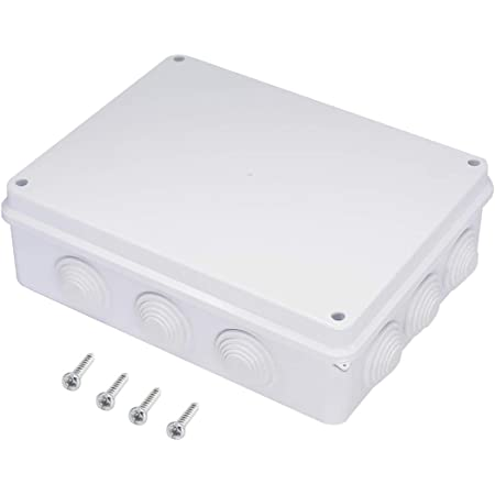 320mmx240mmx110mm ABS Plastic Dustproof Junction Box Electric Project Enclosure