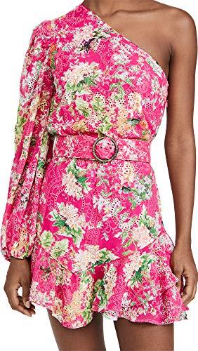 Hemant and Nandita Women's Short Dress, Pink, Large