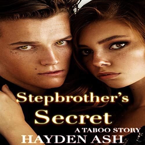 Stepbrother's Secret audiobook cover art