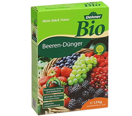 Dehner Bio Beeren-Dünger, 1.5 kg, für ca. 15 qm