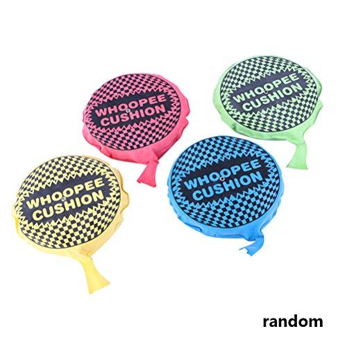 Linpu Furzkissen Pupskissen- Zufällige Farbe Whoopee Kissen selbst aufblasen Whoopee Kissen Streich Spielzeug(20cm/zufällige Farbe)
