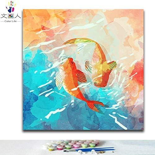 Kykdy Diy Farbgebung Bilder Nach Zahlen Mit Farben Aquarell