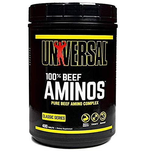 100% Beef Amino Supplement 400 Tablets