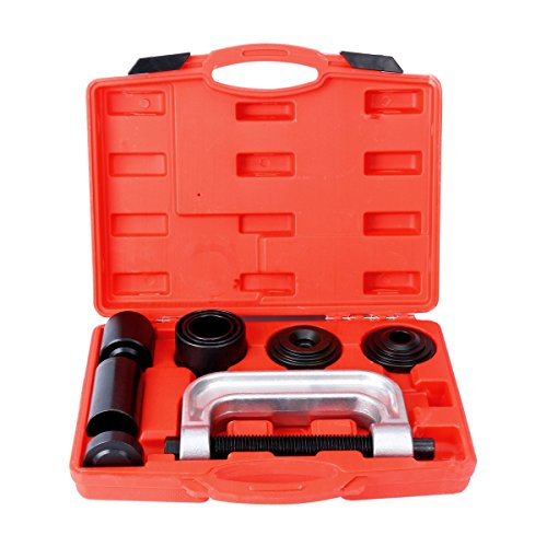 8MILELAKE 10pcs Ball Joint Press Removal/Installation Tool with 4 Wheel Drive Adapters