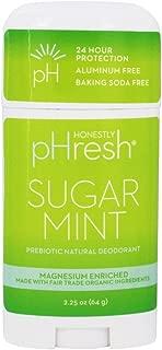 HONESTLY PHRESH Sugar Mint Stick Deodorant, 0.02 Pound