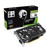 玄人志向 NVIDIA GeForce GTX1650搭載 グラフィックボード GDDR6 4GB デュアルファンモデル GF-GTX1650D6-E4GB