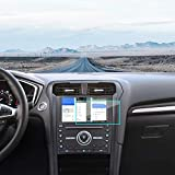 J&D Compatible para 2015-2020 Ford Edge / 2015-2020 Ford F-150 F-250 F-350 F-450 8 Inch Navegación del Coche Protector de Pantalla, 1 Pack Escudo de Película Transparente HD Protector de Pantalla
