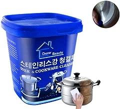 Utensilios de cocina de acero Limpiador de cocina Crema ...