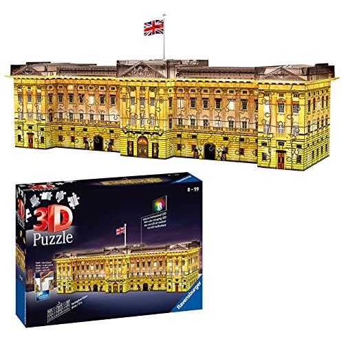 Ravensburger 3D Puzzle 12529 - Buckingham Palace bei Nacht - 216 Teile