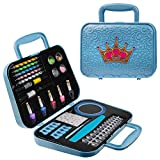 Toysical Nail Art Kit for Girls - Girls Nail Polish Sets for Kids or Tweens - Non Toxic Nail Gift Set - Top Birthday Gift for Ages 6, 7, 8, 9, 10, 11, 12 Year Old Children or Pre-Teen Girls