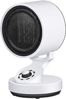 Radiador eléctrico MAHZONG Calefacción De Cerámica 1500W 900W Calentador Eléctrico De Ventilador/Oscila Automáticamente Alrededor De 45 ° C, Ajuste Vertical For Ultra Silencioso De Vuelco Y La Prote