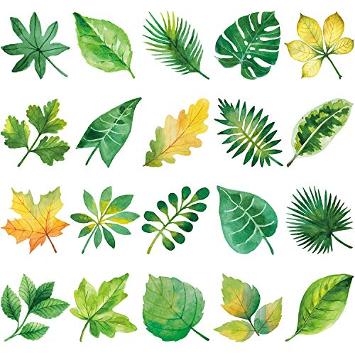 window decals leaves - 5