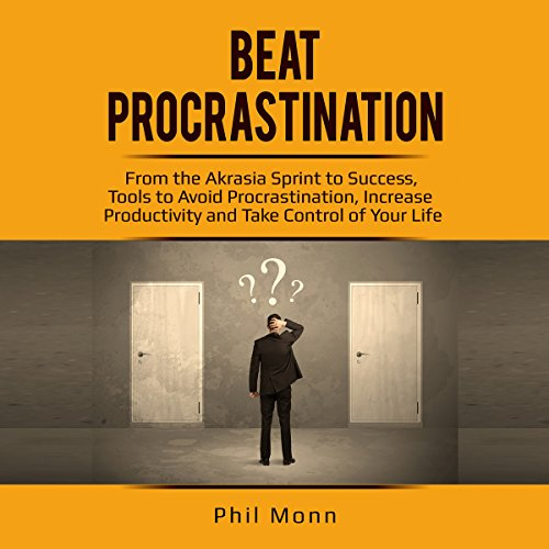 Beat Procrastination audiobook cover art
