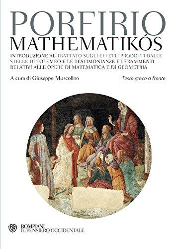 Mathematikós. Testo greco a fronte: 1