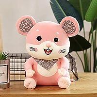 28-40Cmかわいい小さなかわいいマウス人形子供ぬいぐるみ漫画小さなマウス人形ホームギフト-Pink_40Cm 0.58Kg