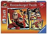 Ravensburger - Puzzle 3 x 49, Los increíbles 2 (08053)