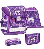 Belmil 403-13 Believe in Magic Purple - Set de mochila y accesorios escolares