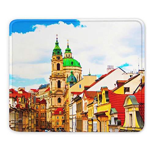 Castillo de Praga Checa Alfombrilla de ratón Regalo de Recu
