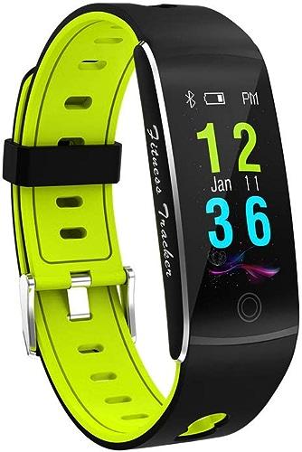 QMKJ SMS Alerte Bracelet de la Tension artérielle fréquence Cardiaque Sommeil Surveillance Fitness Tracker Running Distance Affaires Hommes Occasionnels et Femmes Bracelet Universel