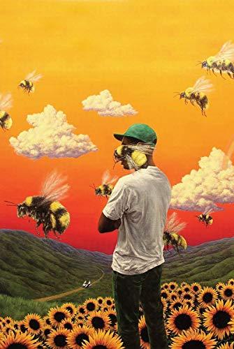Poster Tyler The Creator: Flower Boy Album Cover 38 cm x 58 cm (380 mm x 580 mm)