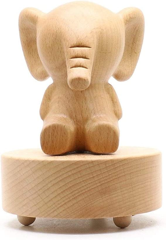 LJXLXY Musical Boxes Wooden Animal Shape Music High material Can Be Rotated Bo wholesale