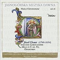 ヤスナ・グラ修道院の音楽 Vol.41 - Music from Jasna Gora Vol. 41 - Elsner: Solemnis Coronationis Missa, Offertories, etc. -